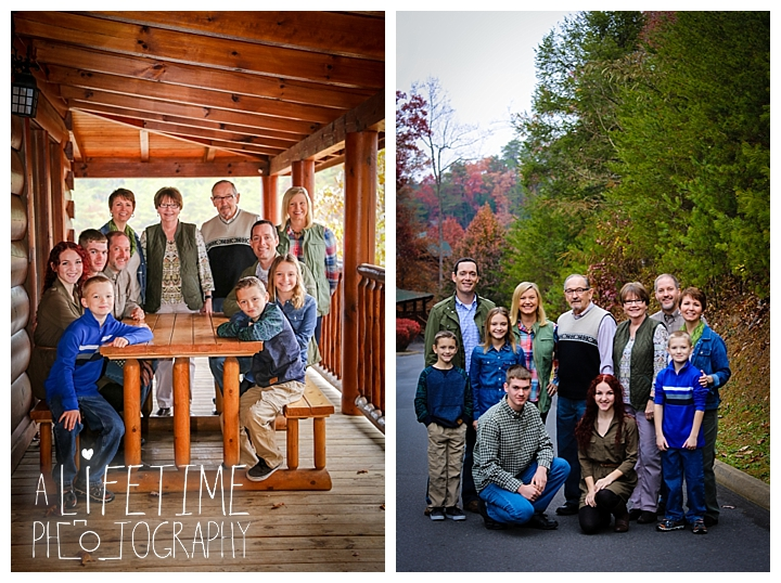 Family Thanksgiving | Bear Creek Crossing Cabins | Pigeon Forge, TN  Photographer