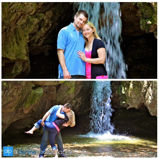 Blue_Hole_Falls_Water_fall_waterfall_Elizabethton_Johnson_City_Engagement_Engaged_Photographer_Photography_Photos_Portrait_Session