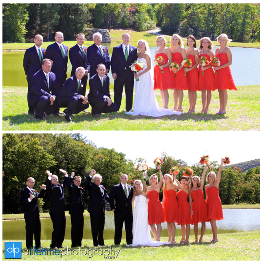 Bridal_Party_Brevard_NC_Asheville_Wedding_Photographer_Young_Life_Camp