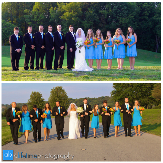 Bridal_Party_Wedding_Ceremony_friends_Photographer_Virginian_Country_Club_Abington_VA_Bristol_TN