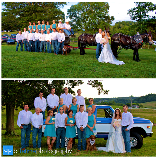 Bridal_Party_Wedding_Chevy_truck_mules_Johnson_City_Jonesborough_Tri_Cities_TN_Photographer_Photography