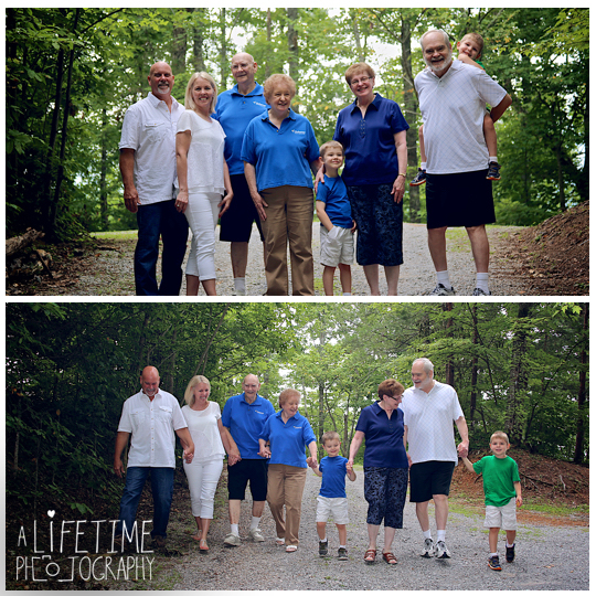 The Simoneaux Family | Cabin Rental | Gatlinburg, TN Photographer