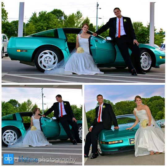 Car_WEdding_Photographer_old_Church_newlywed_Couple_pictures_Photos_bride_groom_Maryville_TN_Knoxville_Seymour_Powell_Clinton