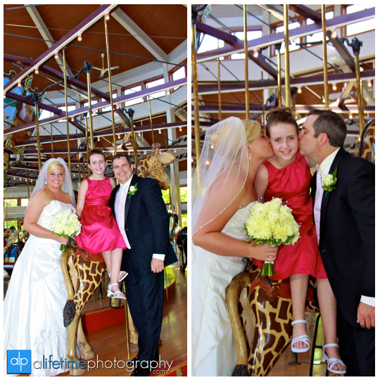 Chattanooga_TN_Carousel_Wedding_Photographer_Newlywed_Couple_Pictures_Photography_Kids_Bride_Groom