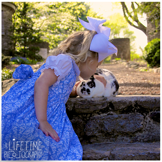 Easter bunny pictures with a real rabbit in Knoxville tn botanical gardens photographer kids children Maryville Seymour Sevierville Pigeon Forge Gatlinburg Dandridge TN-2