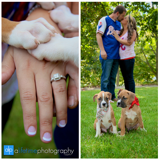 Engagement-Pictures-Couple-Photographer-bull-dog-puppies-engaged-downtown-Jonesborough-Johnson-City-Kingsport-Bristol-TN-4