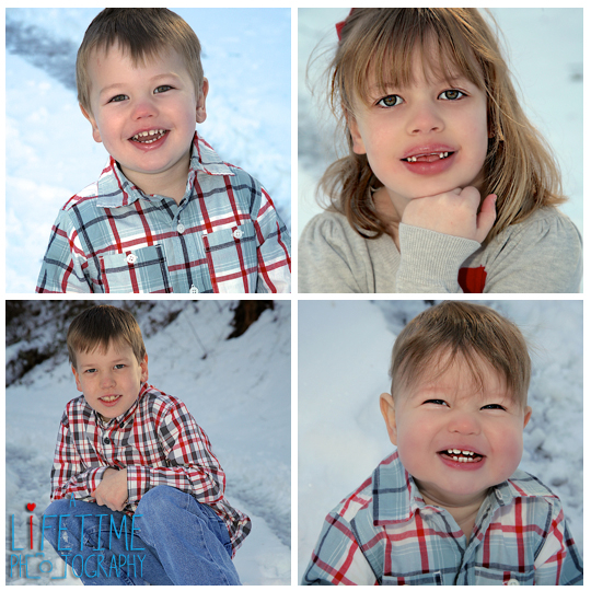 Family Photographer in Townsend TN Snow Winter Session Kids Photography Knoxville Gatlinburg Pigeon Forge Sevierville Vacation-3