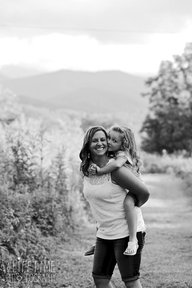 Family photos done in the Smoky Mountains Knoxville