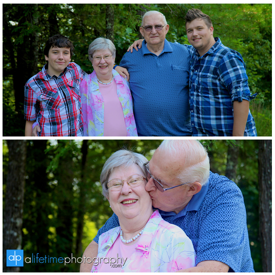 Family pictures at their cabin in Gatlinburg TN Misty mountains photographer Pigeon Forge photography-2
