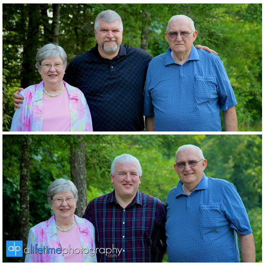 Family pictures at their cabin in Gatlinburg TN Misty mountains photographer Pigeon Forge photography-8