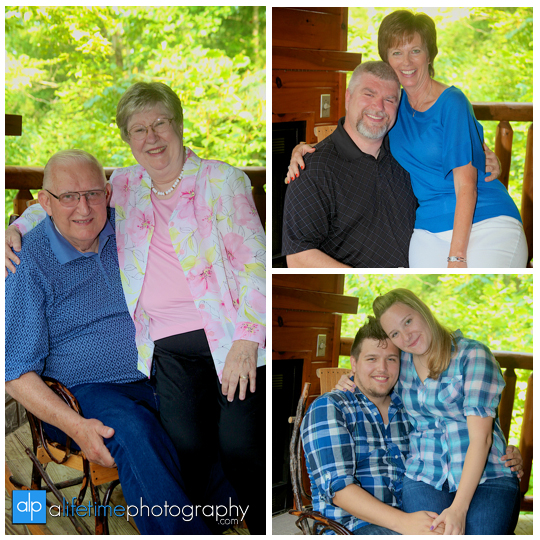 Family pictures at their cabin in Gatlinburg TN Misty mountains photographer Pigeon Forge photography-9