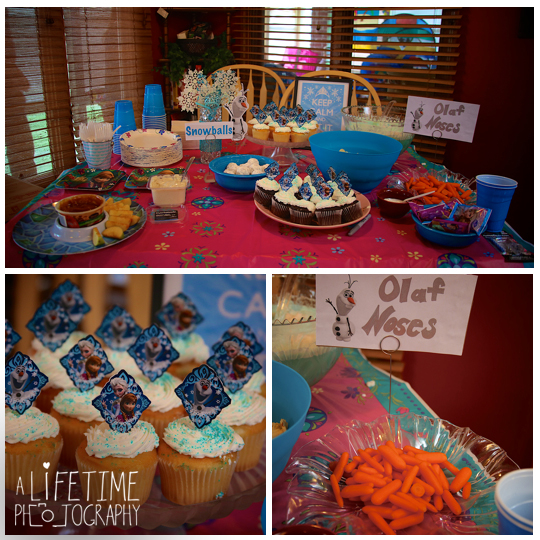 Bellas Frozen Birthday Party