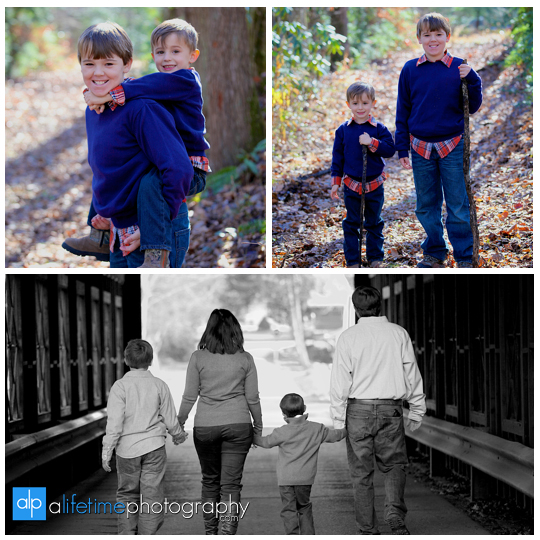 Gatlinburg Tn Family Photographer in Pigeon Forge Sevierville Smoky Mountains kids photography emerts cove covered bridge water river fun pictures-8