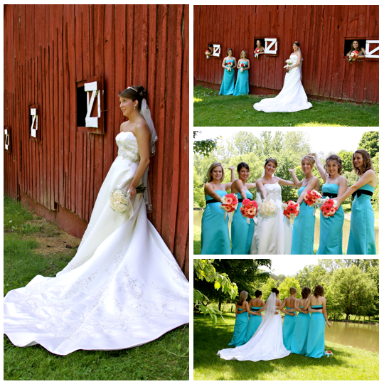 Wedding Photographers in Johnson City TN at Maple Lane Farms