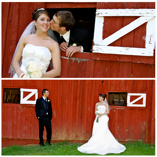 Wedding Photographers at Maple Lane Farms