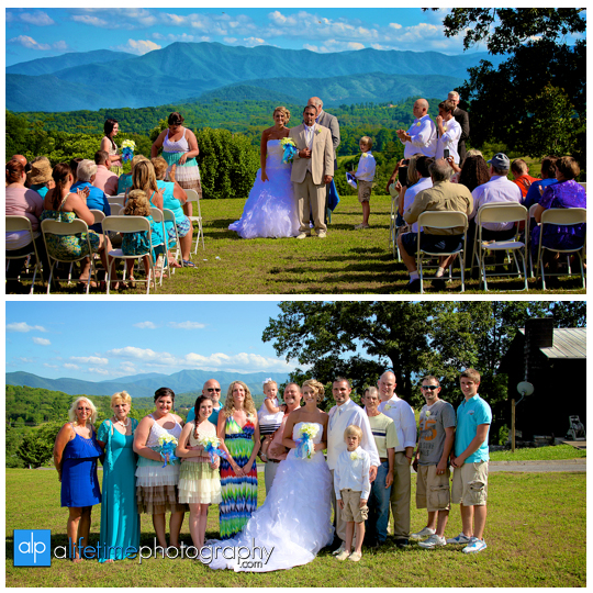 Newport Pigeon Forge Gatlinburg Sevierville Knoxville Tn Wedding Photographer Marriage Photography Photos Bride Groom Newlywed Home Outdoor Ceremony