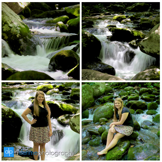 Senior Photographer Gatlinburg Smoky Mountain Roaring Fork