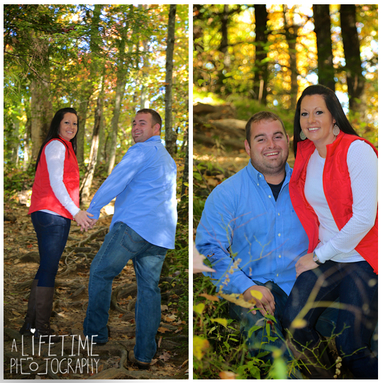 Smoky-Mountain-fall-couples-engagement-photographer-Motor-Nature-Trail-Pigeon-Forge-Knoxville-TN-2