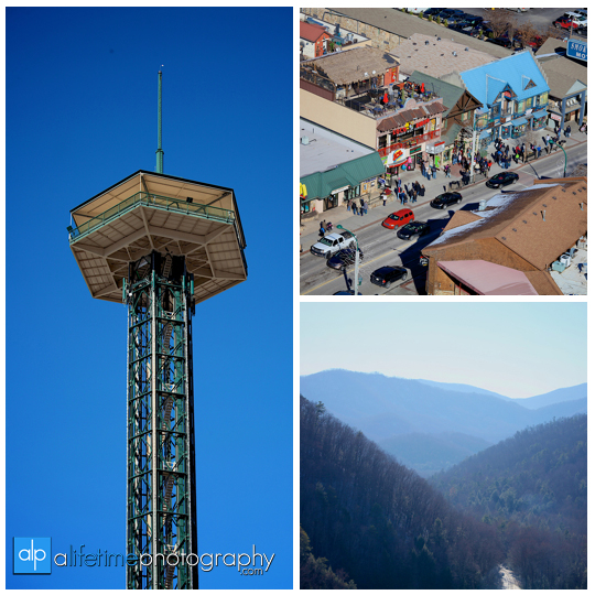 Space needle marriage proposal engagement in Gatlinburg TN photographer Pigeon Forge idea-1