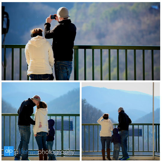 Space needle marriage proposal engagement in Gatlinburg TN photographer Pigeon Forge idea-2
