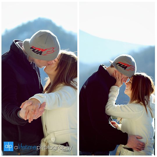 Space needle marriage proposal engagement in Gatlinburg TN photographer Pigeon Forge idea-6