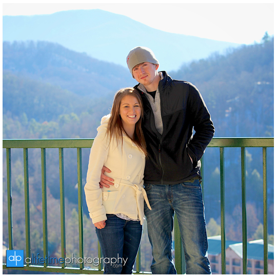Space needle marriage proposal engagement in Gatlinburg TN photographer Pigeon Forge idea-7