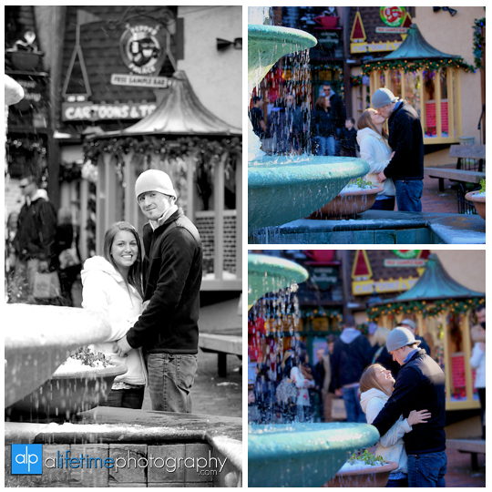 Space needle marriage proposal engagement in Gatlinburg TN photographer Pigeon Forge idea-9