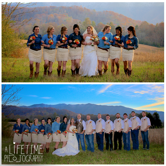 The barn event center of the smokies townsend tn photographer wedding