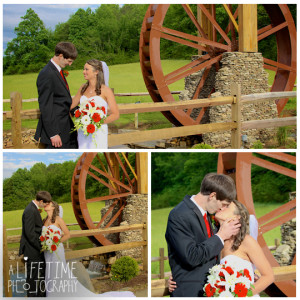 Barn event center of the smokies wedding photographer in townsend tn