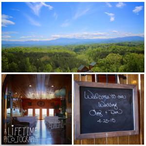 Wedding Photographer Sevierville Pigeon Forge Gatlinburg Mountain Pool Lodge  Eden Crest Cabin Ceremony Photography 1