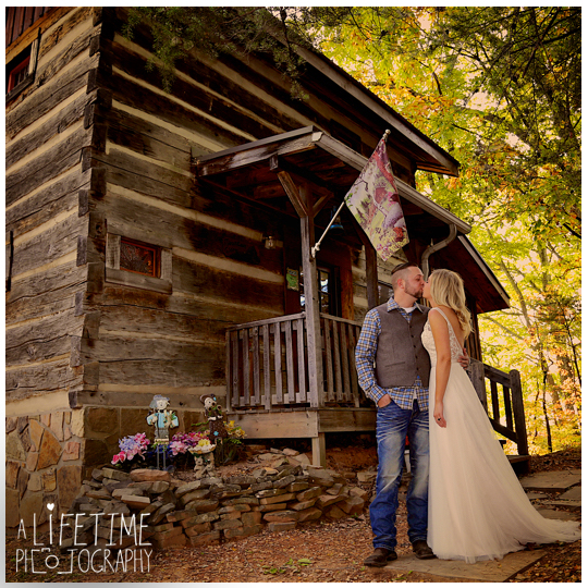Will tiffany authentic pioneer log cabin mountain for Log cabin wedding
