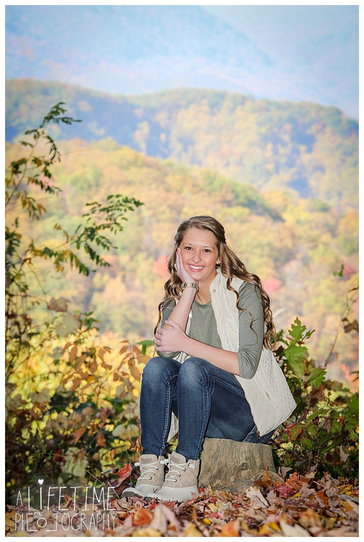 Brooklyn S Senior Portraits Smoky Mountains National