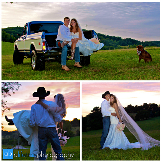 sunset_wedding_photographer_Johnson_City_Jonesborough_TN_Tri_Cities_East_ceremony_Newlywed_bride_Groom_western_country_theme