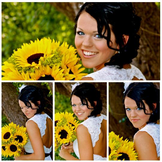 wedding fall theme ideas sunflower bouquet